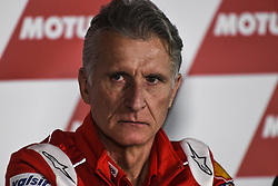 November 16, 2018 - Valencia, Valencia, Spain - Circuit de Valencia, Valencia, Spain; MotoGP of Valencia, Friday free practice; Paolo Ciabatti Dporting Director of Ducati Corse (Credit Image: © Giuseppe Piazzolla/Pacific Press via ZUMA Wire)