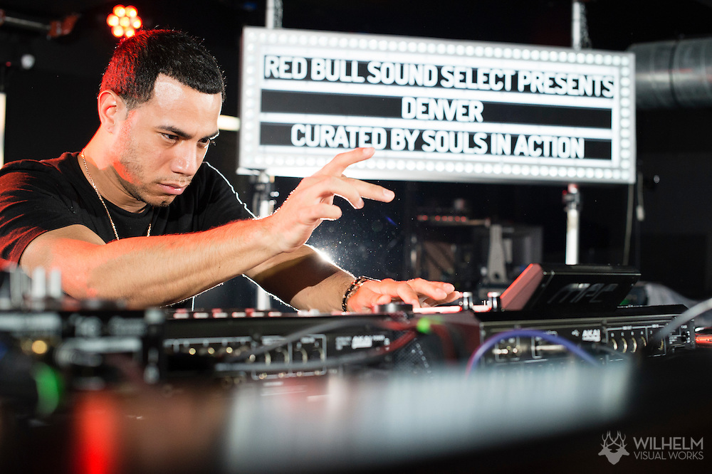 AraabMuzik performs at Red Bull Sound Select Presents Denver at The 1Up on Colfax in Denver, CO, USA, on 30 July, 2015.