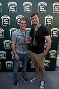 30/04/2014. Connacht Rugby's  Kieran Marmion, and Danie Poolman at the Jameson Cult Film Club screening of The Usual Suspects in the Black Box Galway.Photo:Andrew Downes Photography.