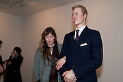 PHILLIPA HORAN; PRINCE WILLIAM WAXWORK, 'Engagement' exhibition of work by Jennifer Rubell. Stephen Friedman Gallery. London. 7 February 2011. -DO NOT ARCHIVE-© Copyright Photograph by Dafydd Jones. 248 Clapham Rd. London SW9 0PZ. Tel 0207 820 0771. www.dafjones.com.