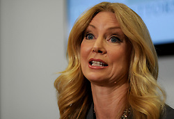 April 3, 2017 - Dr. Wendy Walsh talks about Bill O'Reilly and sexual harassment at Lisa Bloom's law office in Woodland Hills, CA., on Monday, April 3, 2017. (Credit Image: © Los Angeles Daily News via ZUMA Wire)