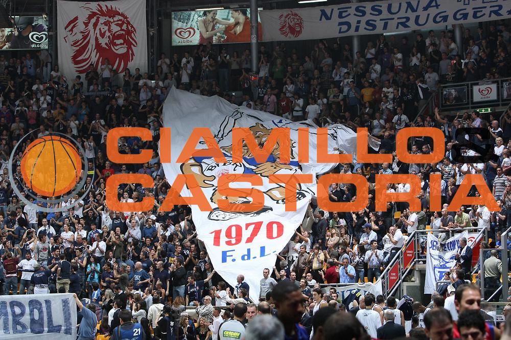 DESCRIZIONE : Bologna Lega A1 2008-09 Fortitudo Bologna Lottomatica Virtus Roma<br /> GIOCATORE : Tifosi<br /> SQUADRA : Fortitudo Bologna<br /> EVENTO : Campionato Lega A1 2008-2009 <br /> GARA : Fortitudo Bologna Lottomatica Virtus Roma<br /> DATA : 18/10/2008 <br /> CATEGORIA : Curva<br /> SPORT : Pallacanestro <br /> AUTORE : Agenzia Ciamillo-Castoria/C.De MAssis