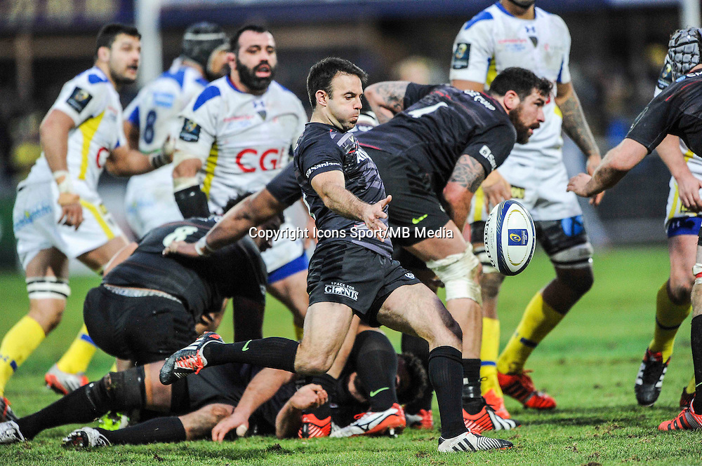 Neil DE KOCK - 25.01.2015 -  Clermont / Saracens - European Champions Cup <br />