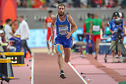 Levon Aghasyan (Armenia), Triple Jump Men - Qualification, during the 2019 IAAF World Athletics Championships at Khalifa International Stadium, Doha, Qatar on 27 September 2019.