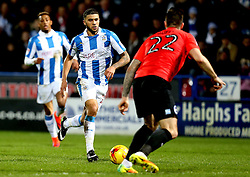 Nahki Wells of Huddersfield Town runs with the ball - Mandatory by-line: Robbie Stephenson/JMP - 02/02/2017 - FOOTBALL - John Smith's Stadium - Huddersfield, England - Huddersfield Town v Brighton and Hove Albion - Sky Bet Championship