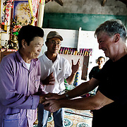 American war veteran Ron Chambers returns to Danang, Vietnam, where he was stationed during the war 40 years ago. Here, Ron meets with a former Viet Cong soldier.