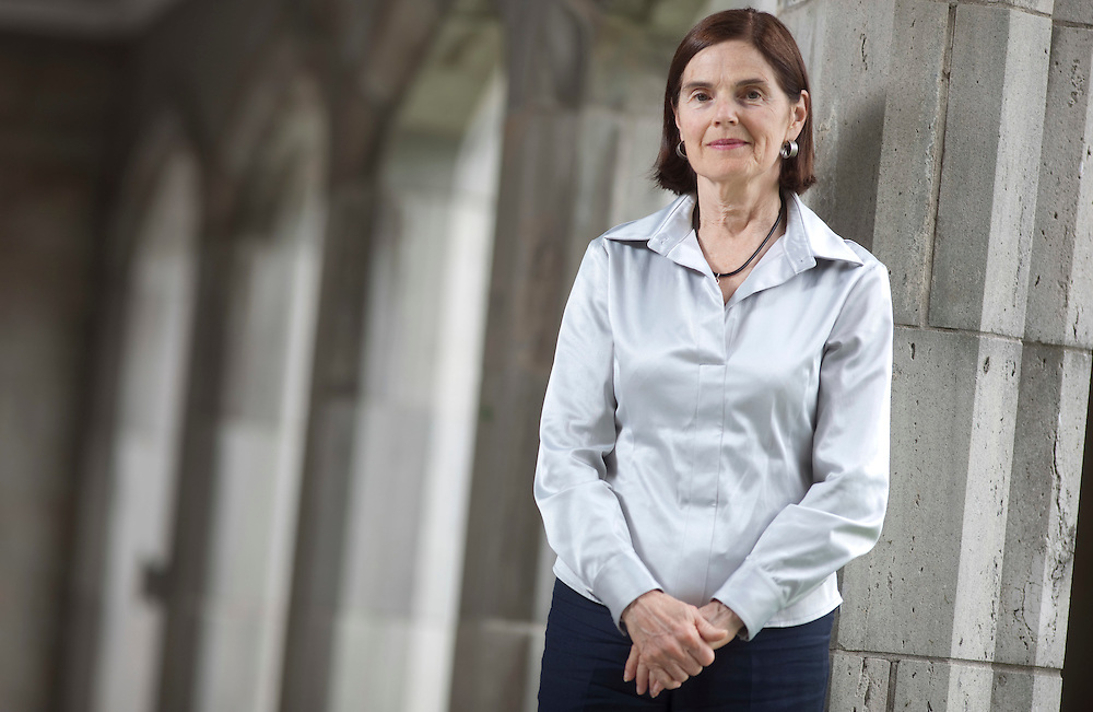 London, ONT.: May 11, 2011 -- Trish Fulton, interim principle of Huron University College, poses for a photograph at the college, part of the University of Western Ontario in London, Ontario, May 11, 2011. She has stirred some controversy with her appointment of a new chair in Islamic studies. <br /> (GEOFF ROBINS for National Post)