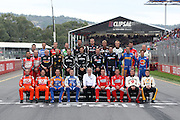 The 2011 class of V8 Supercar drivers. Clipsal 500 ~ Race 3 & 4 of the 2011 V8 Supercar Championship Series. Adelaide Parklands Street Circuit on Sunday 20 March 2011. Photo by  Clay Cross / photospor.co.nz