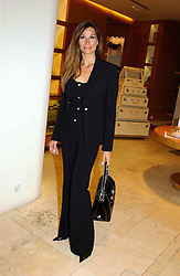Designer ISABELL KRISTENSEN at a party hosted by Burberry to launch their special collection in aid of Breakthrough Breast Cancer, held at 21-23 New Bond Street, London W1 on 5th October 2004.<br /><br />NON EXCLUSIVE - WORLD RIGHTS