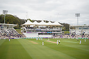 Hampshire v Middlesex during the Specsavers County Champ Div 1 match between Hampshire County Cricket Club and Middlesex County Cricket Club at the Ageas Bowl, Southampton, United Kingdom on 14 April 2017. Photo by David Vokes.