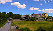 Aubai, South of France, Medieval Village, Landscape