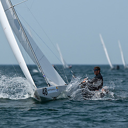 Star World Championship 2009 Varberg Sweden, Mateusz Kusznierewicz winner race 1