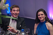 GABRIELLA MCNICHOLAS;  LT. HON THOMAS MAPLES, Quorn Hunt Ball, Stanford Hall. Standford on Soar. 25 January 2014
