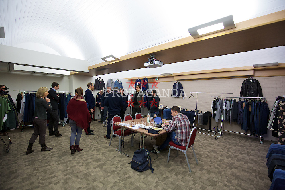 LENS, FRANCE - Wednesday, January 27, 2016: Confiance room at the Novotel Lens Novellas during an inspection visit ahead of the UEFA Euro 2016 Tournament. (Pic by David Rawcliffe/Propaganda)