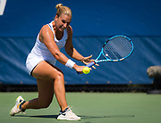 Dominika Cibulkova of Slovakia in action during the second round at the 2018 US Open Grand Slam tennis tournament, at Billie Jean King National Tennis Center in Flushing Meadow, New York, USA, August 30th 2018, Photo Rob Prange / SpainProSportsImages / DPPI / ProSportsImages / DPPI