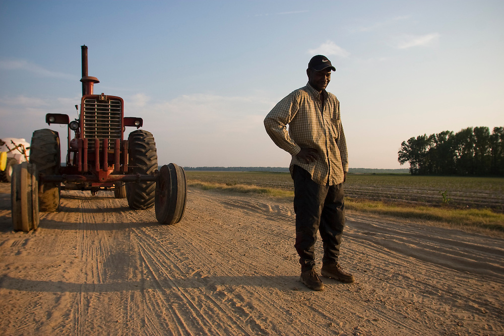 Sharecropper, Greenwood, Miss., 2006. <br /> Photo by D.L. Anderson
