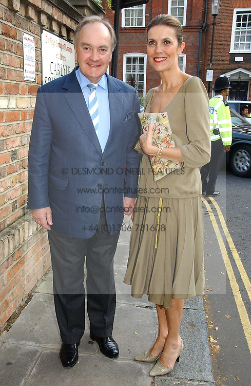 LORD & LADY PALUMBO at Sir David & Lady Carina Frost's annual summer party held in Carlyle Square, Chelsea, London on 5th July 2006.<br /><br />NON EXCLUSIVE - WORLD RIGHTS