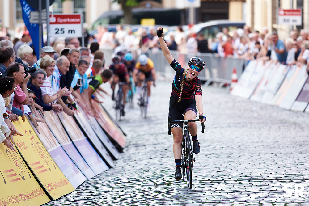 Alice Barnes (GBR) wins Lotto Thuringen Ladies Tour 2018 - Stage 6, a 137.3 km road race starting and finishing in Gotha, Germany on June 2, 2018. Photo by Sean Robinson/velofocus.com