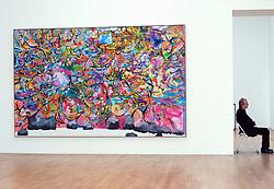 Modern art at Bonn Art Museum or Kunstmuseum Bonn