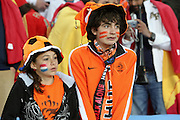 JOHANNESBURG, SOUTH AFRICA- Sunday 11 July 2010, young Dutch fans during the final between Spain The Netherlands (Holland) held at Soccer City in Soweto during the 2010 FIFA Soccer World Cup..Photo by Roger Sedres/Image SA