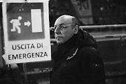 Giuseppe Marotta durante Roma vs Juventus. Stadio Olimpico. 16 febbraio 2013. Christian Mantuano / Oneshot
