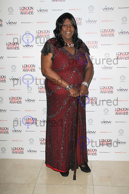 Pauline Pearce; Heroine of Hackney London Lifestyle Awards, Park Plaza Riverbank Hotel, London, UK. 06 October 2011. Contact: Rich@Piqtured.com +44(0)7941 079620 (Picture by Richard Goldschmidt)