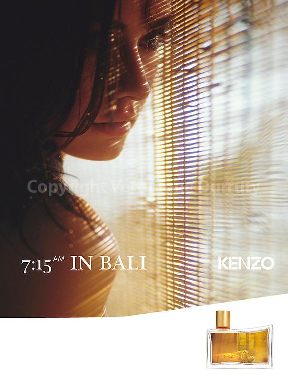 (c)Veronique Durruty for Kenzo perfumes