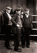 Interested Party......Surveying the horses on sale at the first horse sale of the year at Ennistymon Mart in 1996..Photograph by Eamon Ward Freelance /The Clare People..(Highest Quality Digital File will be available if Chosen for Book).