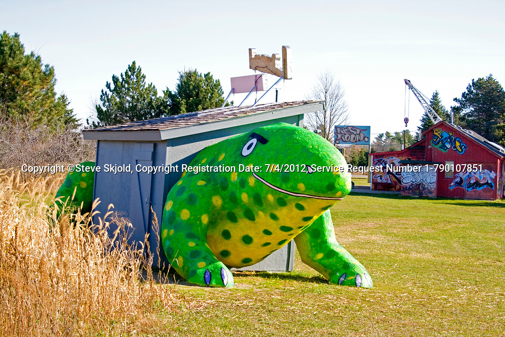 Lizard Lounge by Mary Johnson. Franconia Sculpture Park Franconia Minnesota MN USA