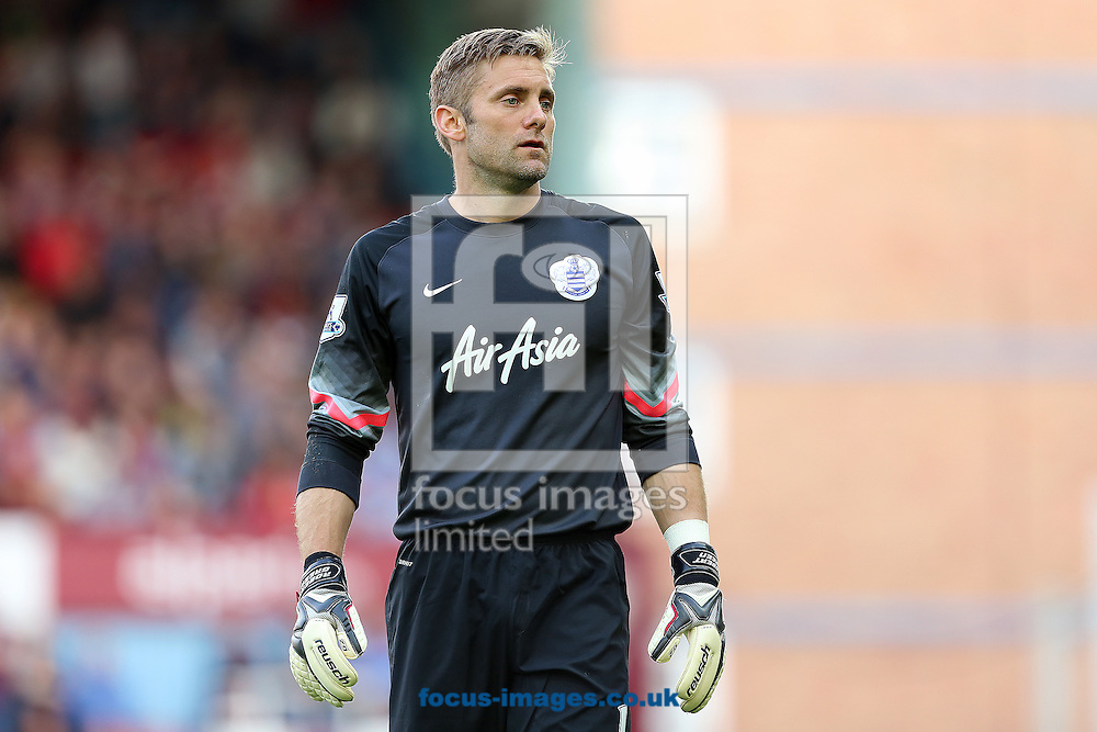 Former West Ham United player, Robert Green now of Queens Park Rangers during the Barclays Premier League match at the Boleyn Ground, London<br /> Picture by Richard Calver/Focus Images Ltd +447792 981244<br /> 05/10/2014