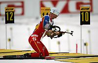 Biathlon, 09. december 2004, World Cup, Oslo, Liv Grete Eikeland , Norge