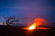 Halemaumau Crater, Kilauea Volcano, HVNP, Hawaii Volcanoes National Park, The Big Island of Hawaii