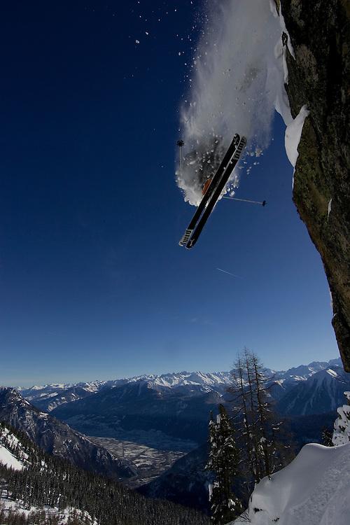 Rider Nicolas Falquet Location : Les Marécottes (Switzerland)