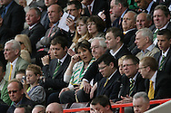 London - Sunday, May 3rd, 2009: Norwich City owner Delia Smith is dejected during the Coca Cola Championship match at The Valley, London. (Pic by Mark Chapman/Focus Images)