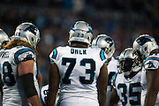 January 24, 2016: Carolina Panthers vs Arizona Cardinals. Michael Oher