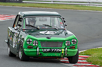 #73 John DAVIES Triumph Vitesse Saloon  during CSCC Adams & Page Swinging Sixties Series  as part of the CSCC Oulton Park Cheshire Challenge Race Meeting at Oulton Park, Little Budworth, Cheshire, United Kingdom. June 02 2018. World Copyright Peter Taylor/PSP.