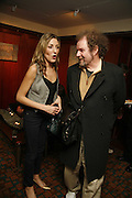 DIXIE CHASSAY AND MIKE FIGGIS, Sir Peter Blake and Poppy De Villeneuve host a party with University of the Arts London at the Arts Club, Dover Street, London. 20 APRIL 2006<br />ONE TIME USE ONLY - DO NOT ARCHIVE  © Copyright Photograph by Dafydd Jones 66 Stockwell Park Rd. London SW9 0DA Tel 020 7733 0108 www.dafjones.com