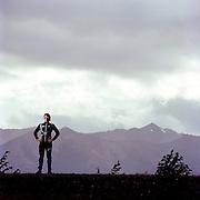ALASKA - SEPTEMBER 2012: Olympic skier Kikkan Randall.