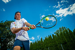 Media day of the Deaf tennis player Marino Kegl, organised by ZSIS - POK, on June 29, 2017 in Murska Sobota, Slovenia. Photo by Vid Ponikvar / Sportida