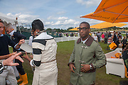 TINY TEMPAH, The Veuve Clicquot Gold Cup Final.<br /> Cowdray Park Polo Club, Midhurst, , West Sussex. 15 July 2012.