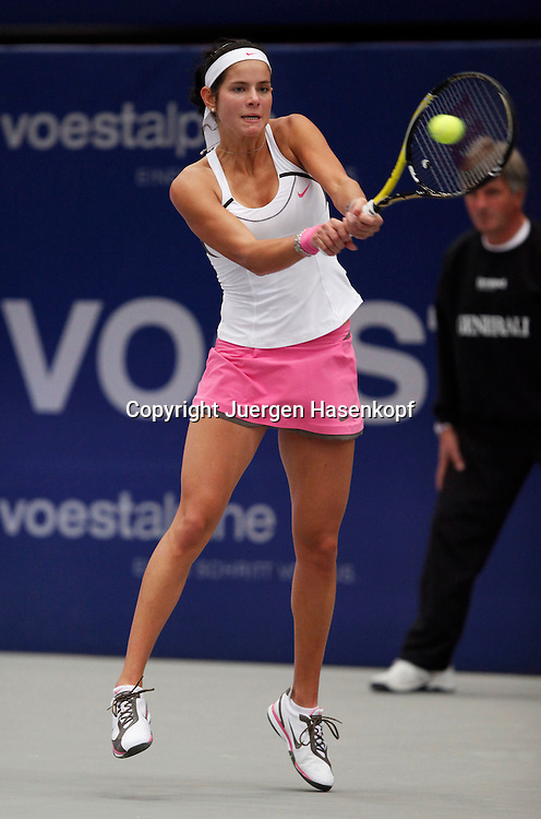 Generali Ladies Linz Open 2010,WTA Tour, Damen.Hallen Tennis Turnier in Linz, Oesterreich,.Julia Goerges (GER)