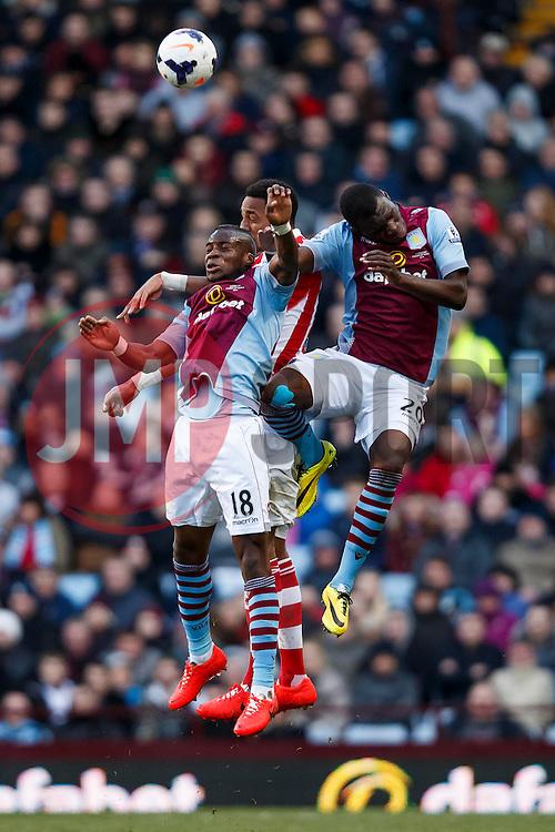 - Photo mandatory by-line: Rogan Thomson/JMP - 07966 386802 - 23/03/2014 - SPORT - FOOTBALL - Villa Park, Birmingham - Aston Villa v Stoke City - Barclays Premier League.