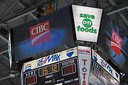 KELOWNA, CANADA - FEBRUARY 17:  CIBC at the Kelowna Rockets game on February 17, 2018 at Prospera Place in Kelowna, British Columbia, Canada.  (Photo By Cindy Rogers/Nyasa Photography,  *** Local Caption ***