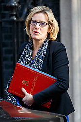 © Licensed to London News Pictures. 17/05/2016. London, UK. Secretary of State for Energy and Climate Change AMBER RUDD attending a cabinet meeting in Downing Street on Tuesday, 17 May 2016. Photo credit: Tolga Akmen/LNP