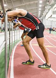Boston University Multi-team indoor track & field meet, Karwoski, Sanca recover after race