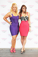 Francesca MacDuff-Varley & Luisa Zissman, Celeb Boutique - Store Launch Party, Westfield Stratford City, London UK, 25 July 2013, (Photo by Brett Cove)