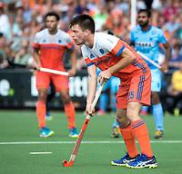 WAALWIJK -  RABO SUPER SERIE . Thierry Brinkman (Ned)    tijdens  de hockeyinterland heren  Nederland-India (3-4),  ter voorbereiding van het EK,  dat vrijdag 18/8 begint.  COPYRIGHT KOEN SUYK