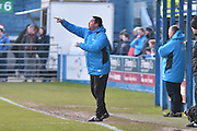 Forest Green Rovers manager, Mark Cooper during the Vanarama National League match between Barrow and Forest Green Rovers at Holker Street, Barrow, United Kingdom on 28 January 2017. Photo by Mark Pollitt.