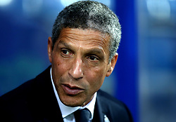 Brighton & Hove Albion manager Chris Hughton - Mandatory by-line: Robbie Stephenson/JMP - 07/04/2017 - FOOTBALL - Loftus Road - Queens Park Rangers, England - Queens Park Rangers v Brighton and Hove Albion - Sky Bet Championship
