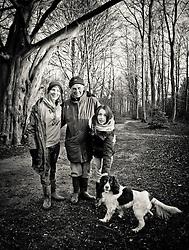 Family portrait, High Kelling Woods